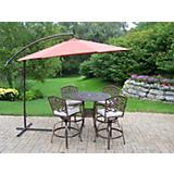 Elite Mississippi 5pc Set w/ Cushion and Umbrella