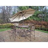 Elite Mississippi 5pc Bar Set with Umbrella