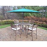Elite Mississippi 5pc Cushion Umbrella Bar Set