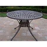 Elite Cast Aluminum 42Inch Dining Table