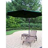 Elite 2pc Chaise Lounge Set w/ Offset Umbrella