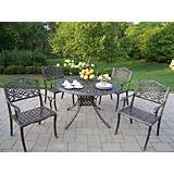 Capitol 48Inch Mississippi 5pc Dining Set