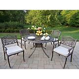 Capitol Mississippi 5pc Dining Set with Cushions