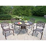 Sunray Cast Aluminum Mississippi 5pc Dining Set