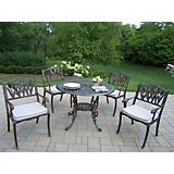 Mississippi 42In Tulip 5pc Dining Set w/ Cushions