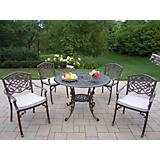 Mississippi 42In 5pc Dining Set w/ Cushions