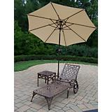Mississippi 2pc Set with Umbrella and Stand