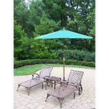 Mississippi 3pc Set with Umbrella and Stand