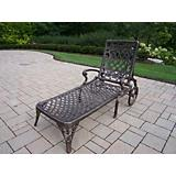 Mississippi Cast Aluminum Chaise Lounge