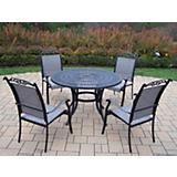 Sunray Cascade 48Inch 5pc Dining Set