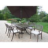 Oxford Mississippi 7pc Set w/ Cushion and Umbrella