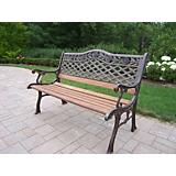 Tea Rose Bench
