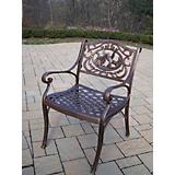 Hummingbird Cast Aluminum Arm Chair