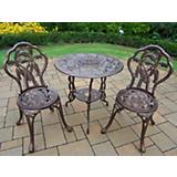 Palm Tree 3pc Bistro Set