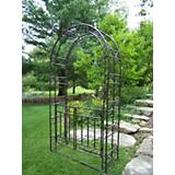 Arbor With Gate and Base