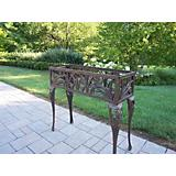 Butterfly Rectangular Plant Stand Antique Bronze