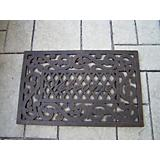 Welcome Cast Aluminum Doormat