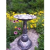 Oakland Living Rock Bird Bath