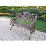 GOD Bless America Cast Aluminum Bench
