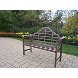 King Louis Cast Aluminum Bench