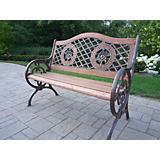 Double Rose Bench