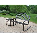 Rochester 2pc Rocker Bench Set