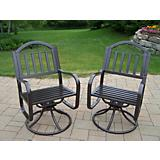 Rochester Swivel Chair (Two Pack)