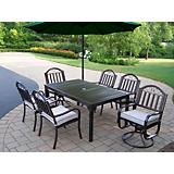 Rochester 7pc Set w/ 2 Chair Cushion n Umbrela