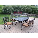 Hampton 9pc Dining Set with Sunbrella Cushions