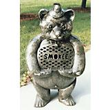 Smokee Bear Cast Aluminum Chimenea With Grill