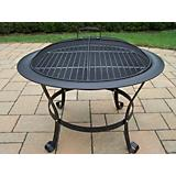 30Inch Round Fire Pit with Grill