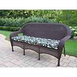Resin Wicker 3 Seater Sofa with Cushion