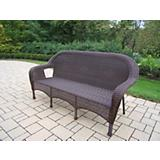 Resin Wicker 3 Person Settee