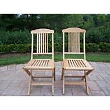 Folding Event Wooden Chairs Pack of Two