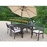Rochester 7pc Set with Cushion plus Umbrella