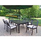 Rochester 7pc Set with Cushions and Umbrella