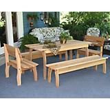 Cedar Gathering Dining Set