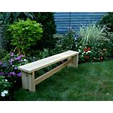 5Ft Cedar 1800 Traditional Bench with Slant Brace