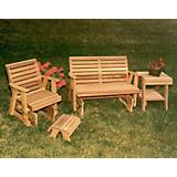 Cedar Classic Rocking Glider Furniture Collection