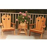 Cedar Country Hearts Adirondack Chair Collection