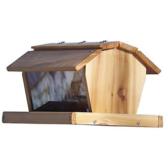 Stovall Wood 25 lb Extra Large Barn Feeder