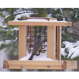Stovall Wood Smaller Whole Peanut Feeder