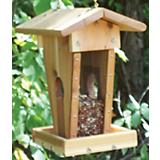 Stovall Wood Peanut Sunflower Feeder
