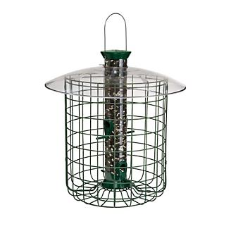 Droll Yankees Green Domed Cage Sunflower Feeder