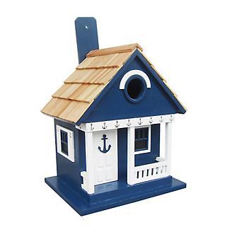 Home Bazaar Anchor Cottage Birdhouse Navy