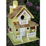 Home Bazaar Backyard Bird Cottage Birdhouse Yellow