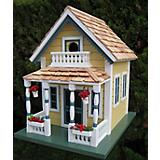 Home Bazaar Newburyport Cottage Birdhouse Yellow