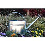 1 Gallon Galvanized Watering Can with Long Spout