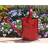 Griffith Creek Red Metal Watering Can