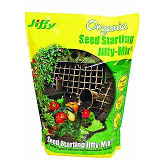 Jiffy Orgainc Seed Start Mix 16 Quart